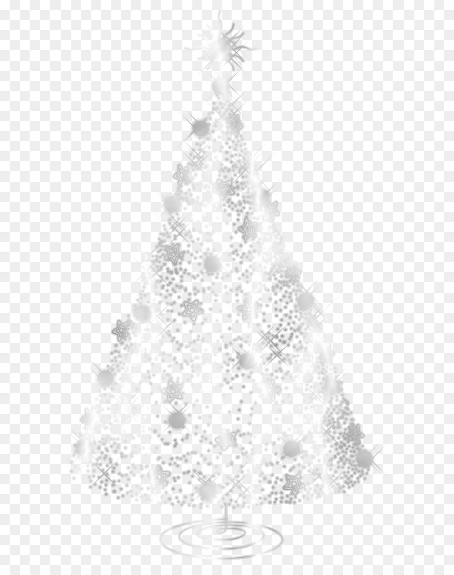 White Christmas Tree Png.White Christmas Tree