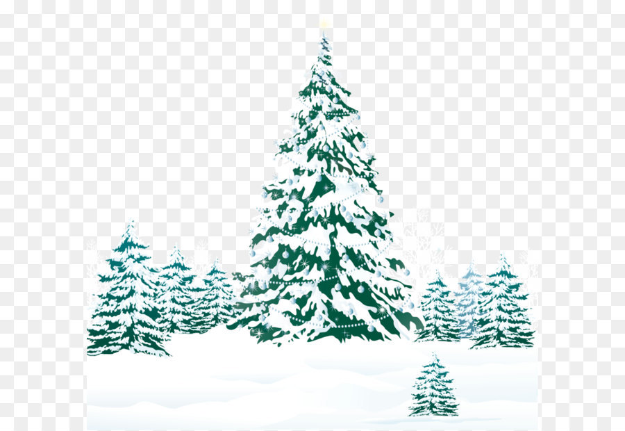 White Christmas Tree Png.Christmas Tree Snow