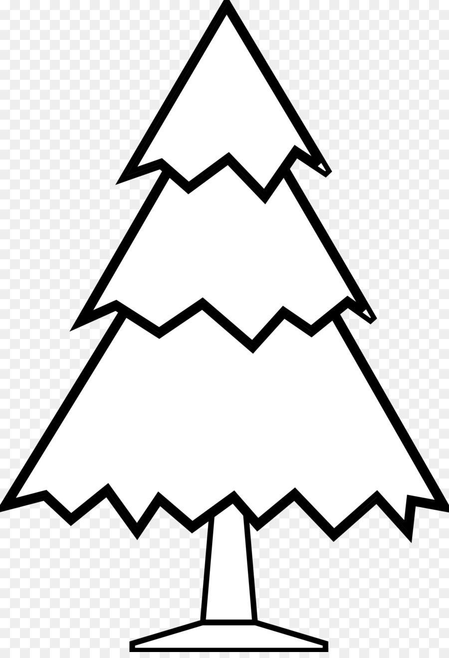 Christmas Tree Clipart Black And White.Christmas Tree Black And White Clip Art Black And White
