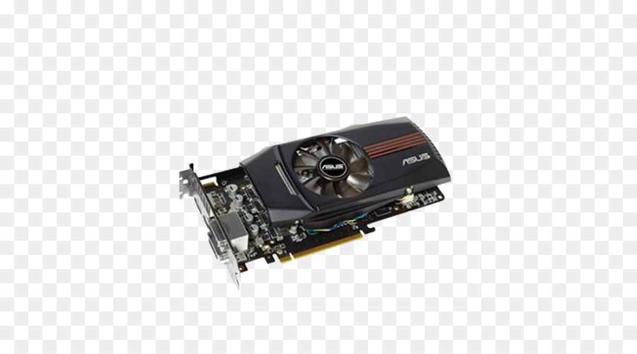 Video card Radeon Asus R600 PCI Express - ASUS electronic chip