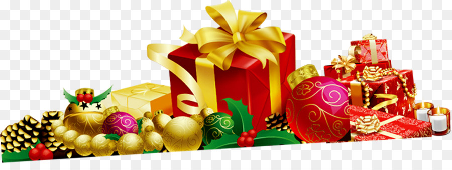 Christmas Gift Box Png.New Year Gift Box