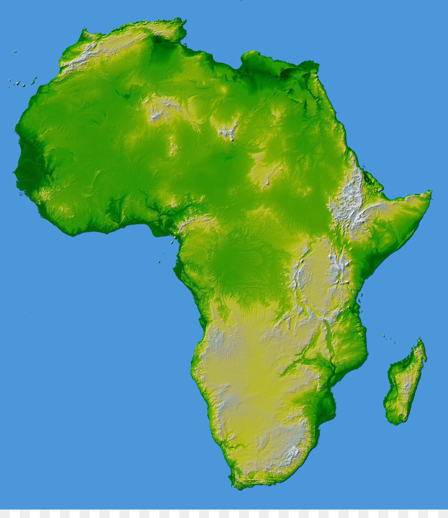 Elevation Map Of Africa With Key.Africa Topographic Map World Map Elevation Africa
