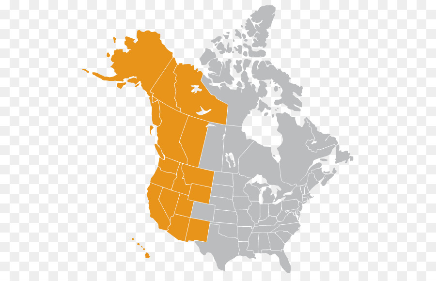 United States Canada Mexico Vector Map Jesusland map ...