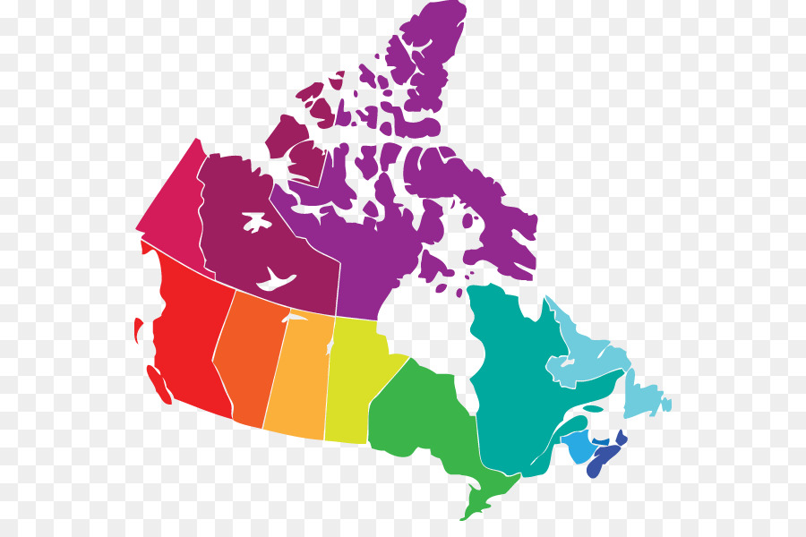 Provinces and territories of Canada United States Blank map - canada ...
