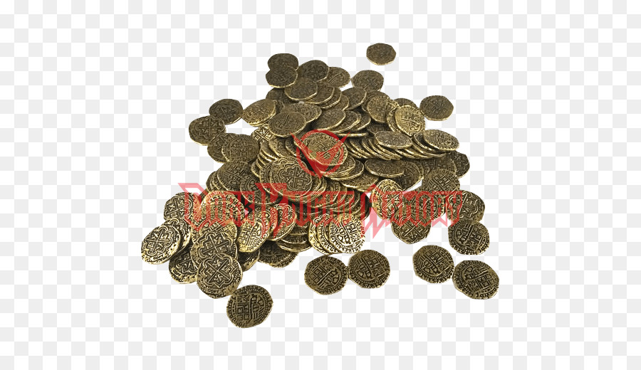 Pirate coins Piracy Doubloon Spanish dollar - Coin