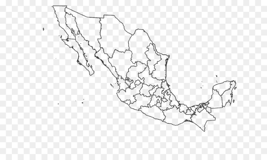 Administrative divisions of Mexico Blank map United States ...