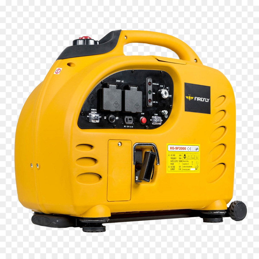 2Kva Kings Generator yellow background