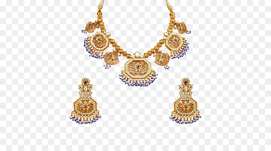 Necklace Earring Gold Tanishq Jewellery - necklace