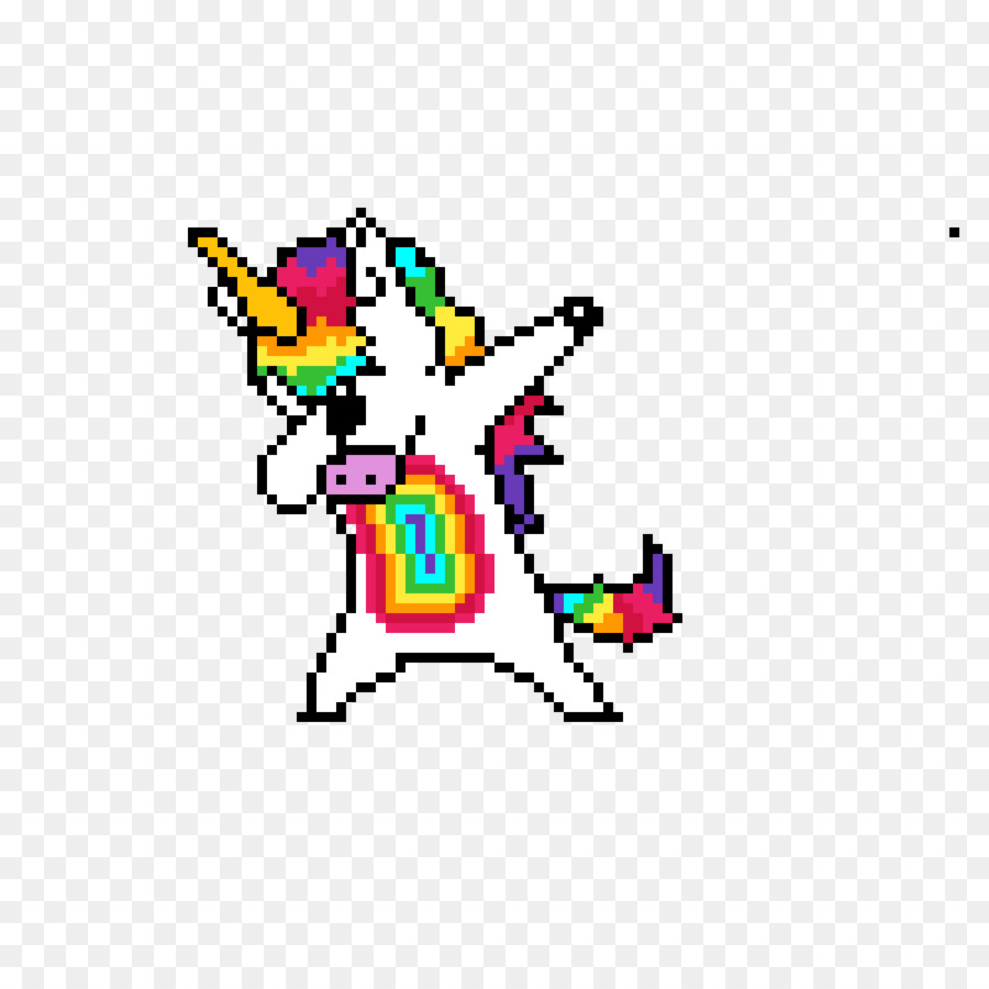 Pixel Art Unicorn