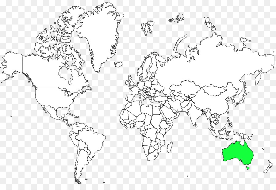 World map Coloring book Border - world map