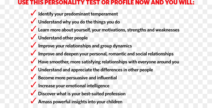 Personality test Four temperaments Personality type DISC assessment