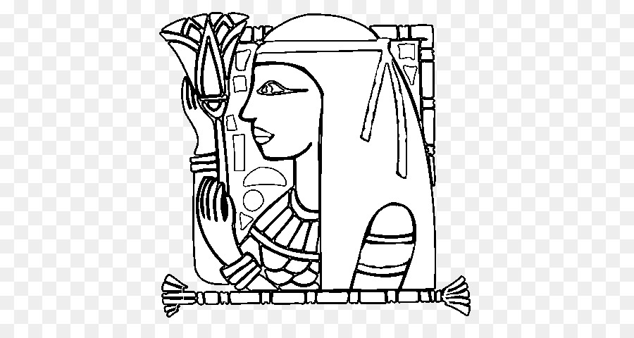 Drawing Ancient Egypt Egyptian language Coloring book