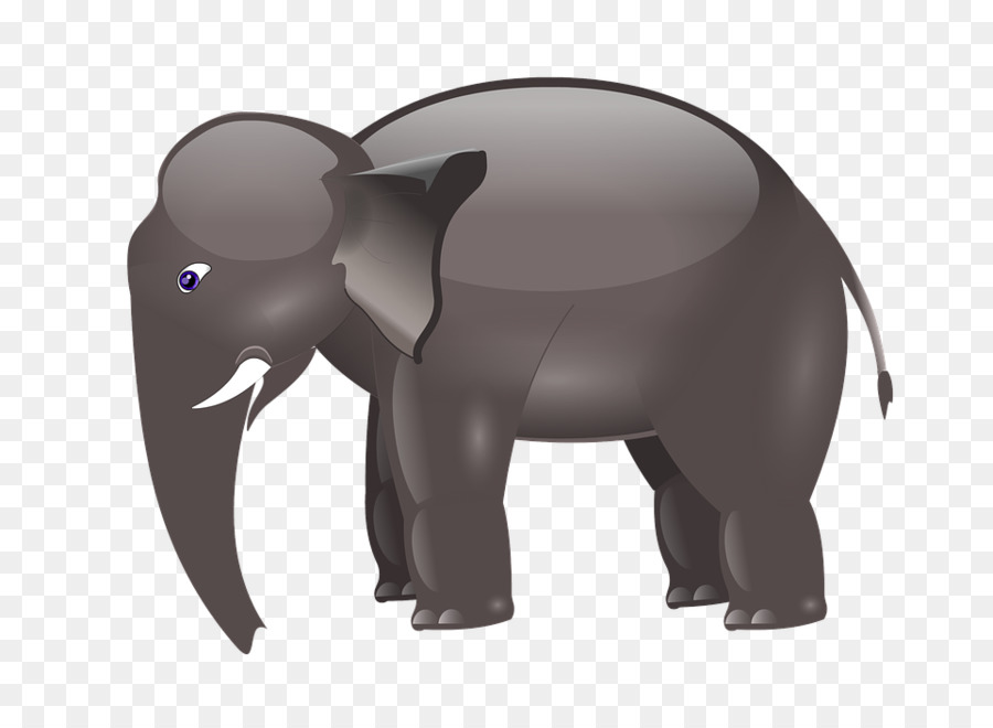 Indian Elephant African Elephant Elephants Cartoon Clip Art