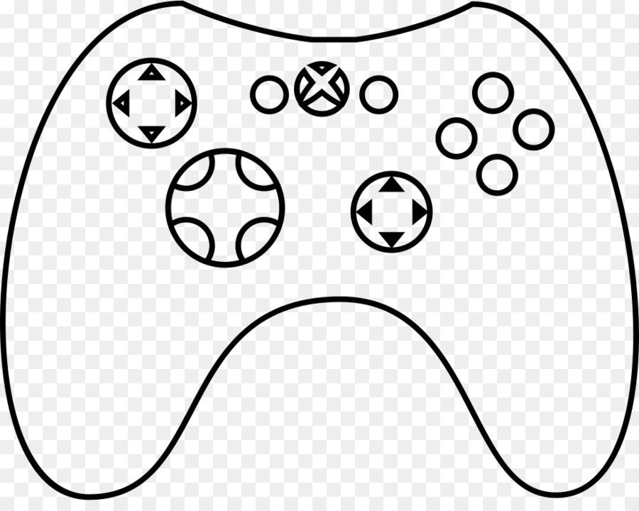 Game Controllers Xbox One Controller Xbox 360 Controller Clip Art