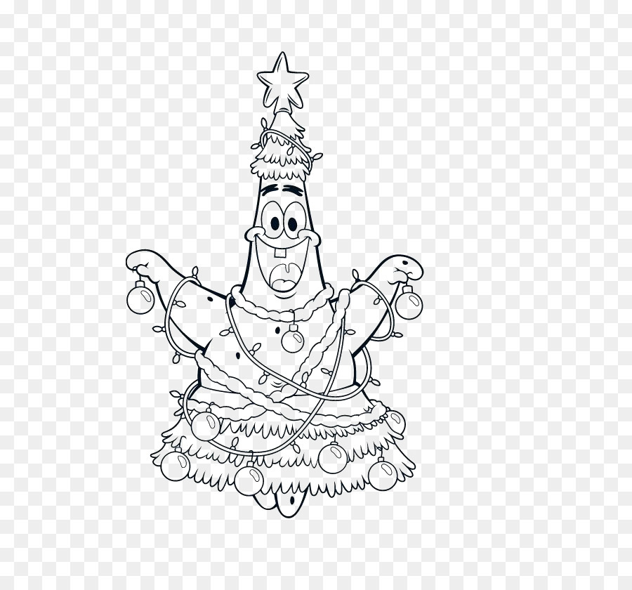 Patrick Star Christmas Coloring Pages Coloring Book It S A
