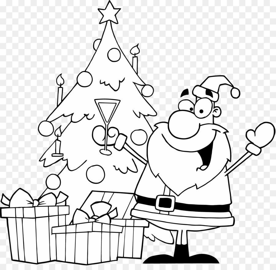 Christmas Day Drawing Images.Santa Claus Drawing Vector Graphics Clip Art Christmas Day