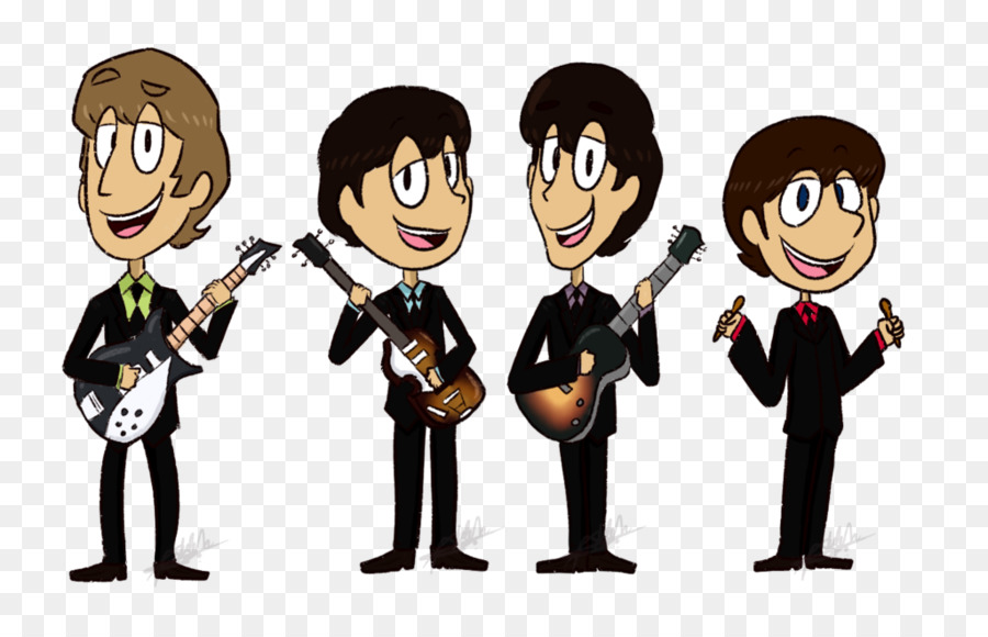 Clip art The Beatles Drawing DeviantArt - by the beatles
