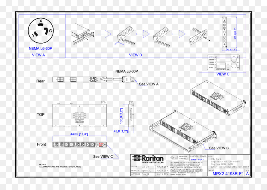 Diagram Power distribution unit Electrical Wires & Cable ... on
