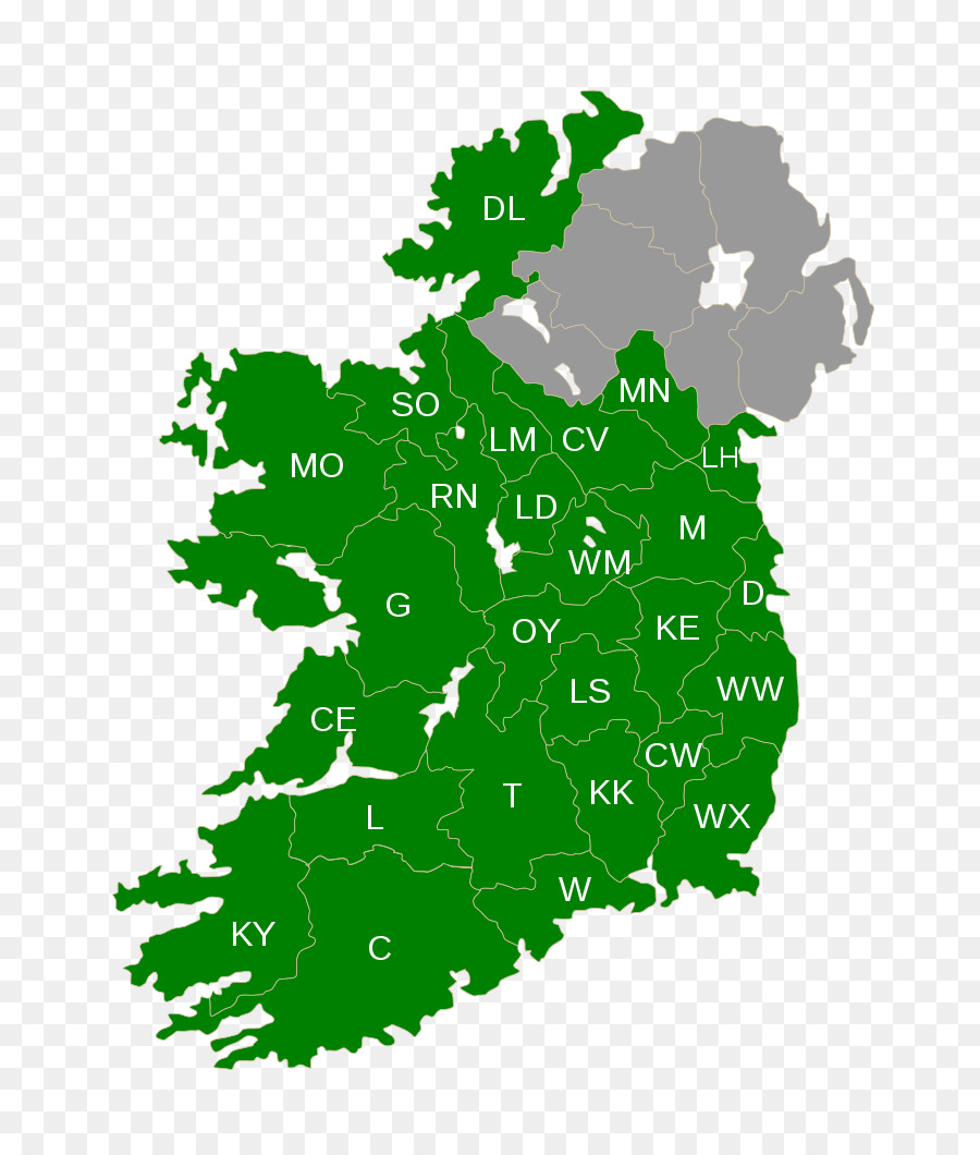 Map Of Republic Of Ireland Showing Counties.Clip Art Counties Of Ireland Map Republic Of Ireland Image Map