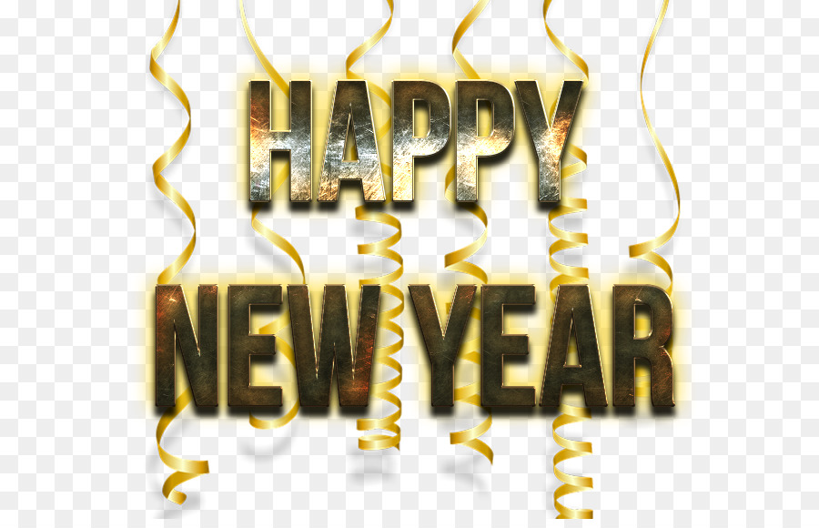 Happy New Year Text Png 45