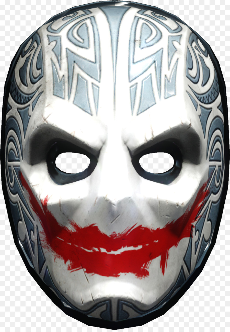 Payday 2 Payday: The Heist Mask Overkill Software Video Games - tiki