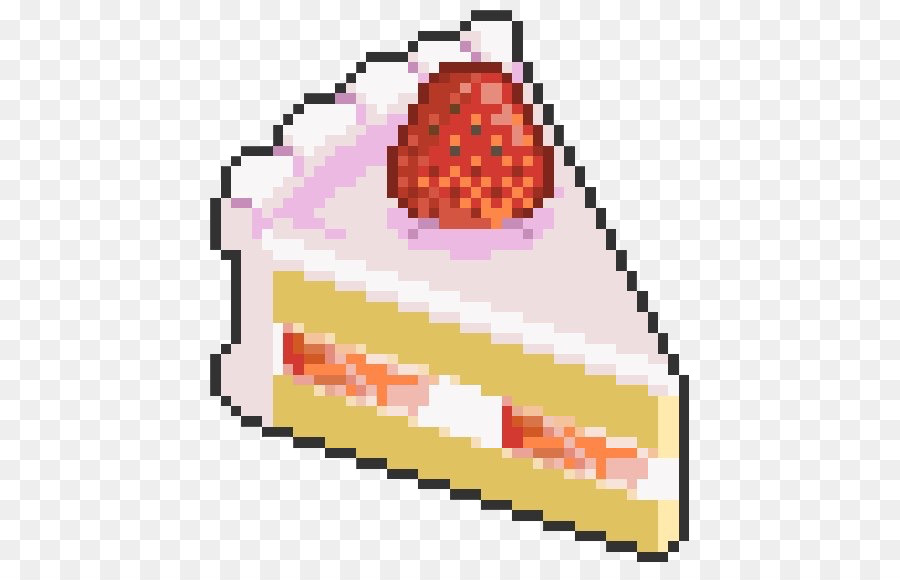 Pixel Art Kawaii Food