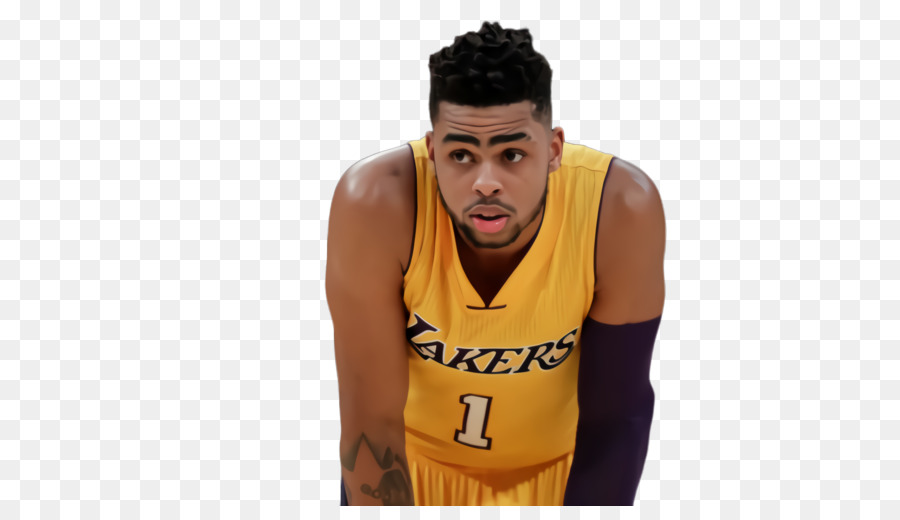 newest aa771 b8558 D'Angelo Russell Basketball Brooklyn Nets Los Angeles Lakers ...